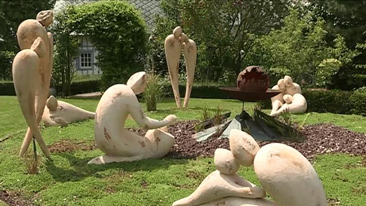 La Jardin des Sculptures de Robert Arnoux  (France 3/ Culturebox)