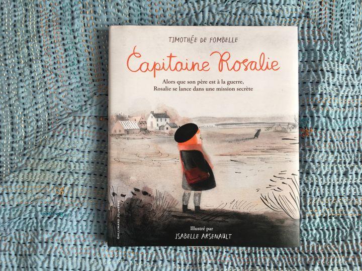 """""""Capitaine Rosalie"""", Timothée de Fombelle, Isabelle Arsenault (Gallimard Jeunesse)  (Laurence Houot - Culturebox)"""