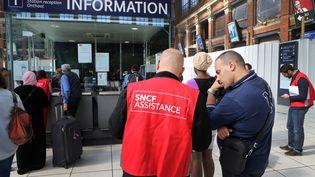 La grève de la SNCF à Lille (Nord), le 11 juin 2014. ( MAXPPP)