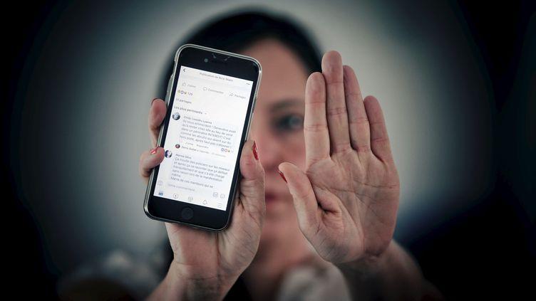 Comment détecter les messages violents sur les réseaux sociaux ? (photo d'illustration) (PHOTOPQR / NICE MATIN / MAXPPP)