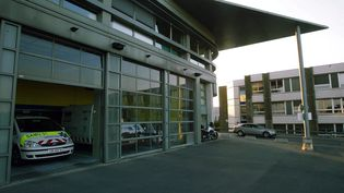 L'entrée des urgences de l'hôpital de Reims (Marne), le 8 octobre 2010. (MAXPPP)