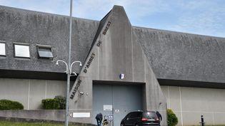 La façade de la maison d'arrêt de Brest (Finistère), le 17 mai 2018. (MAXPPP)