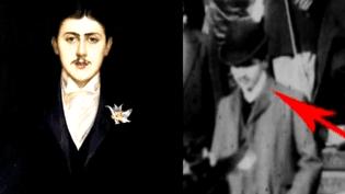 Portrait et image de Marcel Proust  (capture d'écran France 3 / Culturebox)