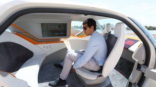Prototype de voiture autonome AKKA. (MAXPPP)