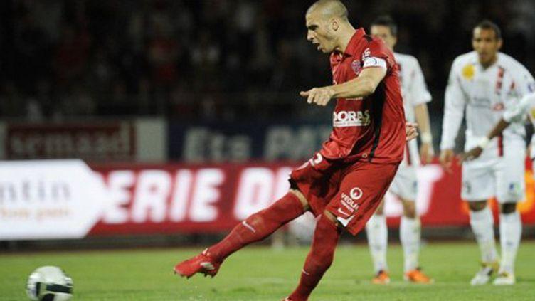 Le meilleur buteur de Ligue 2, Sebastian Ribas (Dijon).