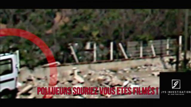 """Envoyé spécial. """"Pollueurs, souriez, vous êtes filmés"""" : en caméra cachée, il piège ceux qui déversent leurs déchets dans Marseille"""