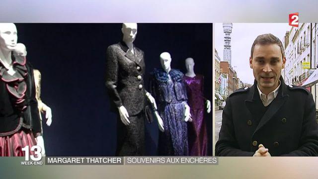 Royaume-Uni : des effets personnels de Margaret Thatcher en vente