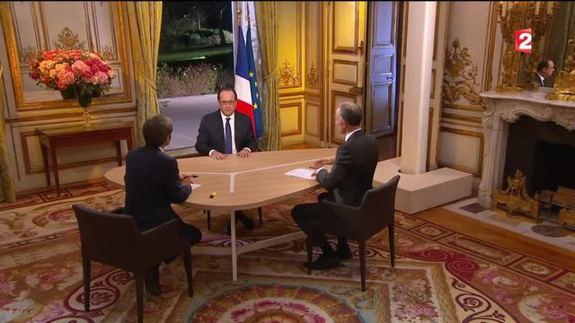 Regardez l'intégralité de l'intervention de François Hollande après le remaniement
