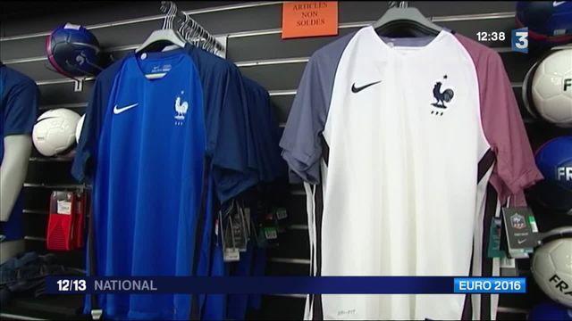 Euro 2016 : les maillots des Bleus se vendent très bien