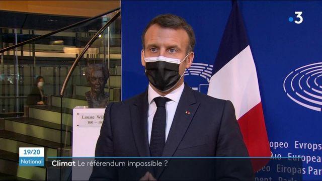 Climat : le référendum va-t-il être organisé ?