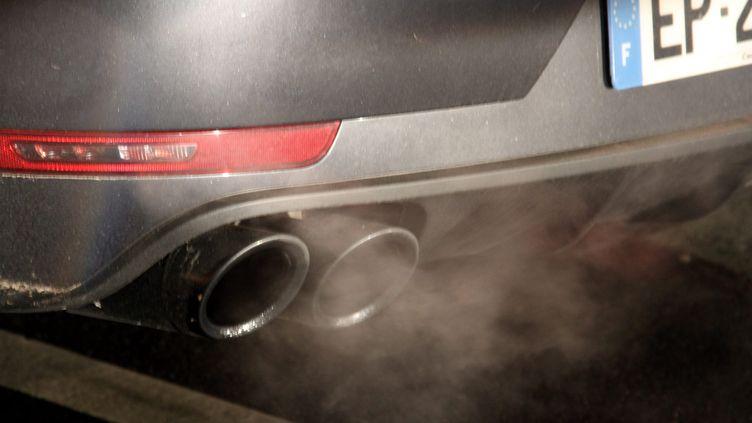 Les gaz d'échappement des moteurs diesel sont classés commecancérogènespar l'Organisation mondiale de la santé depuis 2012 (illustration). (MAXPPP)