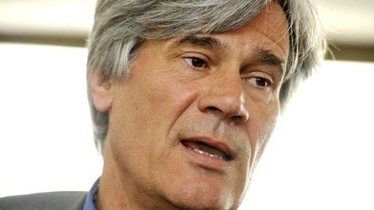 """(""""Je voudrais savoir où ce parti qui se prétend républicain veut aller"""" a déclaré Stéphane Le Foll, le porte-parole du gouvernement © MaxPPP)"""