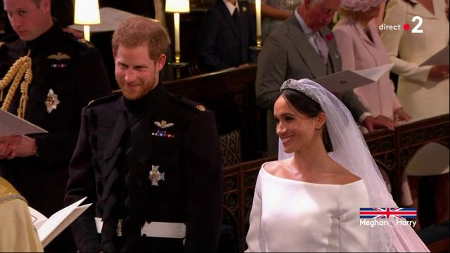 """""""I will"""" : le prince Harry et Meghan Markle échangent leurs consentements"""
