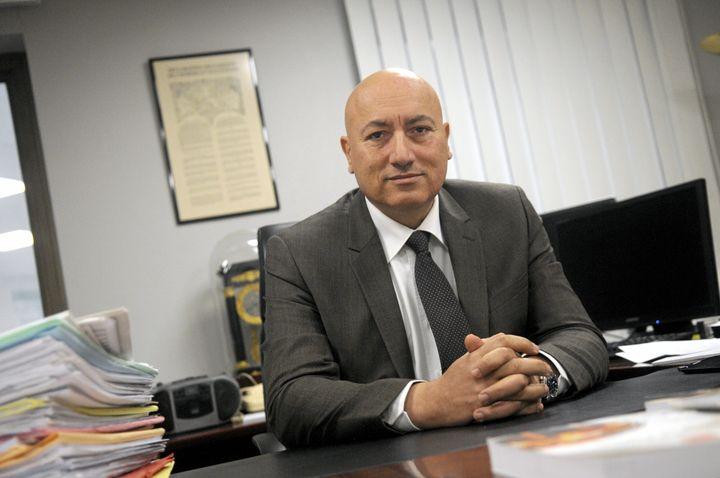 Eric Maurel, procureur de la République de Nîmes, en juin 2018. (LYDIA CHASSIER / PHOTOPQR / LE MIDI LIBRE / MAXPPP)