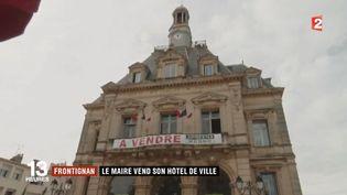 La mairie de Frontignan (Hérault) (France 2)