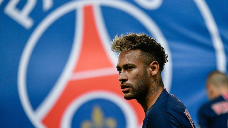 Neymar, le 26 septembre 2018, lors de la 7e journée de Ligue 1 contre le Stade de Reims au Parc des Princes. (JULIEN MATTIA / LE PICTORIUM / MAXPPP)