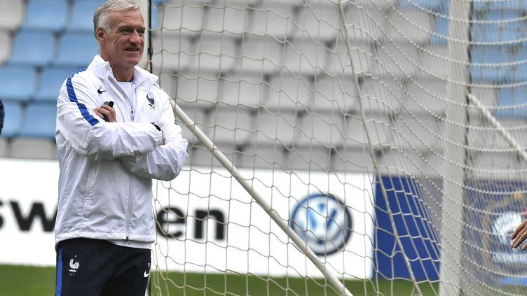 L'entraîneur des Bleus Didier Deschamps à Nantes, le 29 mai 2016. (MAXPPP)