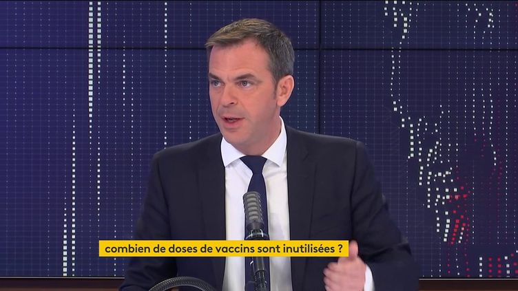 Olivier Véran, sur franceinfo, vendredi 30 avril. (FRANCEINFO / RADIOFRANCE)