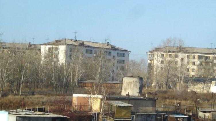 La ville de Kalachi (Kazakhstan) où plusieurs habitants souffrent de brusques pertes de conscience. (GOOGLE MAPS)