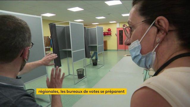 Régionales et départementales : les bureaux de votes s'organisent