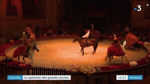 Chantilly : le spectacle des grandes écuries