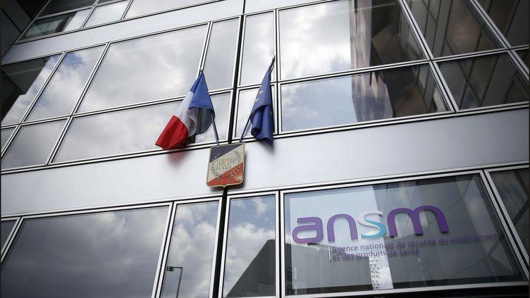 Le siège de l'Agence nationale de sécurité du médicament et des produits de santé, à Paris. (LUC NOBOUT / MAXPPP)
