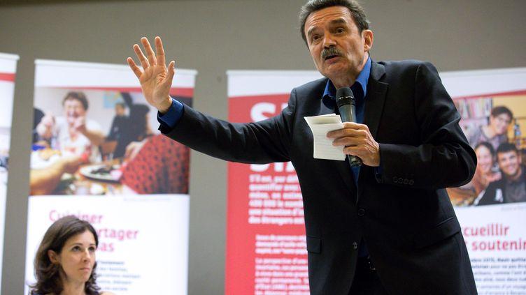 Le directeur de Mediapart, Edwy Plenel, le 1er juin 2017 à Besançon (Doubs). (MAXPPP)