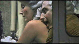 """Marc Susini et Téodora Marcadé dans """"Liberté"""" de Albert Serra (Copyright Sophie Dulac Distribution)"""
