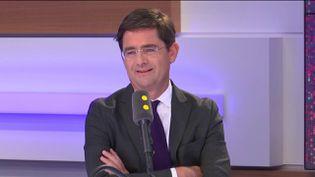 Nicolas Dufourcq, directeur général de Bpifrance, était l'invité de L'interview éco, vendredi 22 mars. (CAPTURE D'ECRAN FRANCEINFO / RADIO FRANCE)