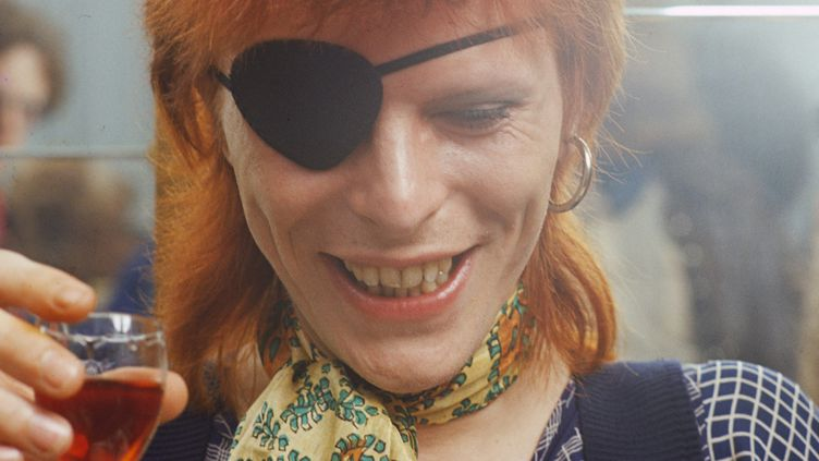 David Bowie en février 1974 à Amsterdam.   (Gijsbert Hanekroot / Getty Images)