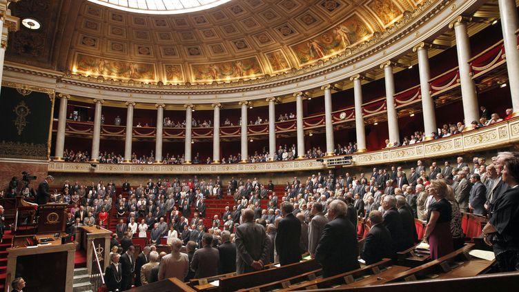 Les députés à l'Assemblée nationale, le 29 juin 2010. (PATRICK KOVARIK / AFP)