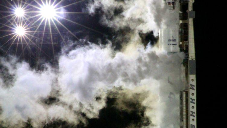 Le lancement de la sonde Phobos-Grunt a eu lieu dans la nuit de mardi 8 à mercredi 9 novembre depuis lecosmodrome de Baïkonour, au Kazakhstan. (AFP)