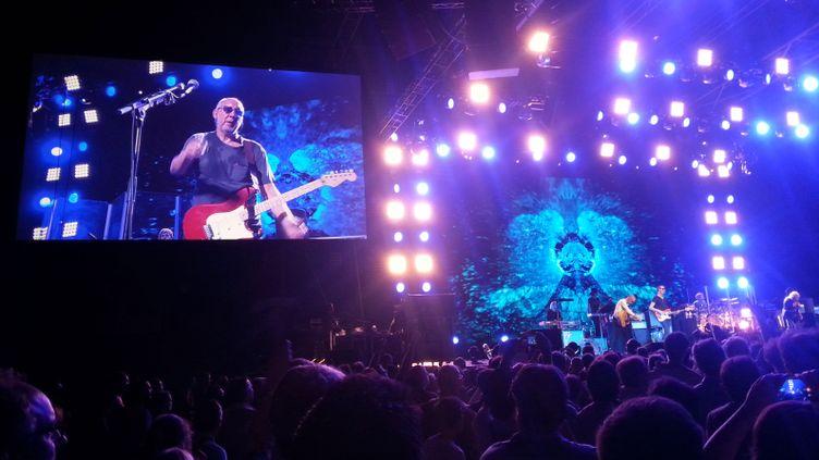 (Le groupe The Who a donné un concert événement mardi 30 juillet au Zénith de Paris © RF/Benjamin Illy)