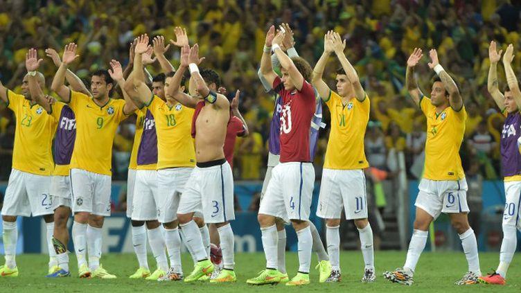 La Seleçao a poussé pour décrocher son billet pour les demies du Mondial. (GABRIEL BOUYS / AFP)