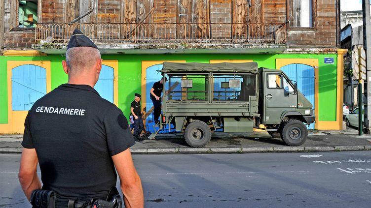 Gendarmes en Guadeloupe (ARNAUD BEINAT / MAXPPP)