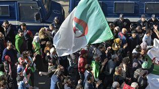 La manifestation du vendredi 14 février 2020à Alger. (RYAD KRAMDI / AFP)