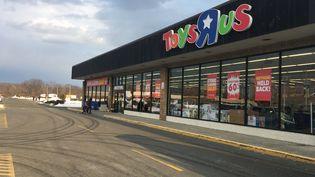Le magasin Toys'R'Us de Wayne dans le New Jersey aux États-Unis fermera le mois prochain. (MARCO WOLTER / RADIO FRANCE)
