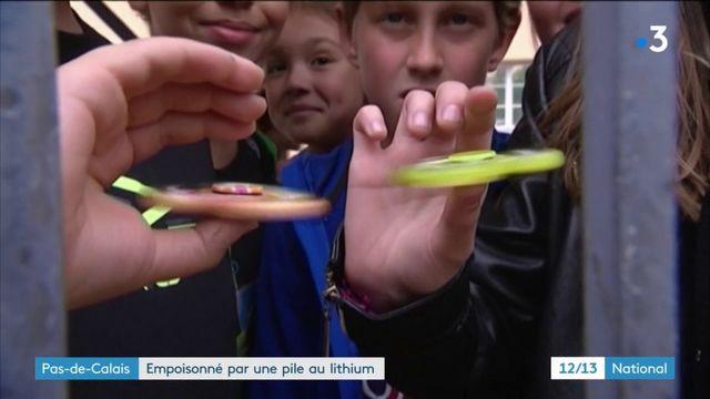 Pas-de-Calais : un enfant empoisonné par une pile au lithium