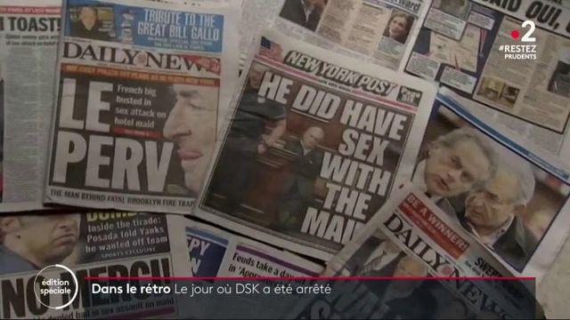 """#DansLeRétro : le 15 mai 2011, """"DSK"""" était arrêté"""