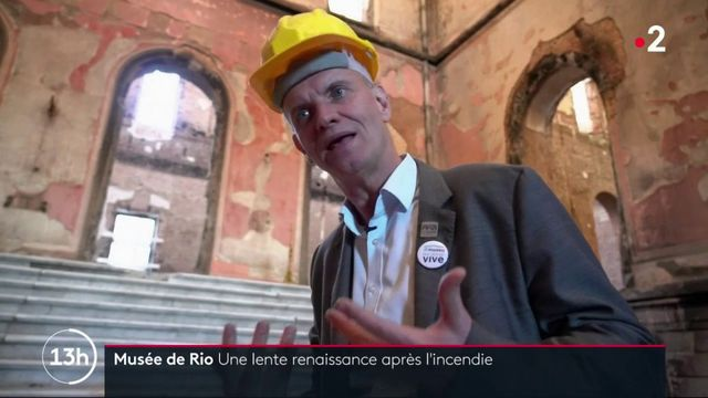 Brésil : la lente rénovation du musée national de Rio de Janeiro