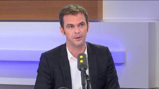 Olivier Véran invité de franceinfo le 20 novembre 2019 (FRANCEINFO / RADIOFRANCE)