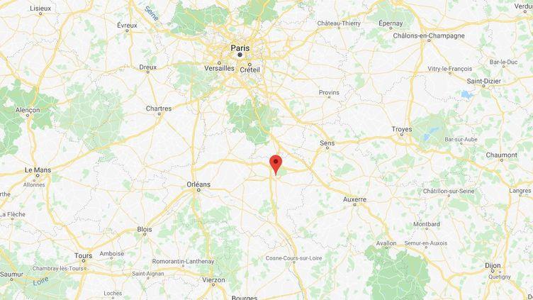 Les coups de feu ont été tirés dans le quartier de la Chaussée, à Montargis (Loiret). (CAPTURE D'ÉCRAN GOOGLE MAPS)