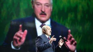 Le président de la Biélorussie, Alexandre Loukachenko, le 17 septembre 2020. (TUT.BY / AFP)