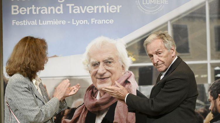 Le Festival Lumière rend hommage à Bertrand Tavernier, disparu en mars 2021 (JOËL PHILIPPON / MAXPPP)