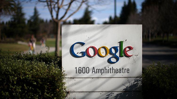 Vue extérieure du siège de Google à Mountain View en Californie le 30 janvier 2014. AFP (JUSTIN SULLIVAN / GETTY IMAGES NORTH AMERICA)
