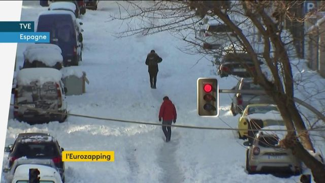 Eurozapping : vague de froid en Espagne ; le coronavirus stabilisé en Islande