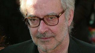 Le réalisateur franco-suisse Jean-Luc Godard au Festival de Cannes 2004.  (LORENVU/SIPA)