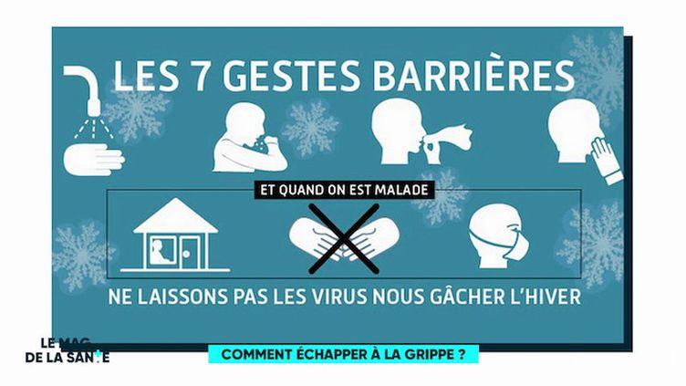 """""""Comment échapper à la grippe"""", chronique du Dr Clémence Baudoin, médecin urgentiste, du 7 février 2019"""