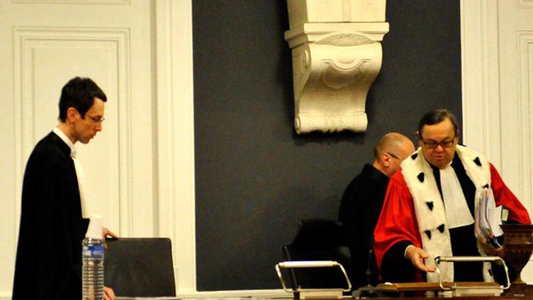 (Le procès d'Audrey Chabot s'est ouvert ce vendredi devant les assises de l'Ain © MAXPPP)