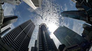 Vue générale du quartier de la bourse et des affaires de Singapour. Image d'illustration. (ROSLAN RAHMAN / AFP)